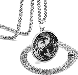 Best mens yin yang necklace Reviews