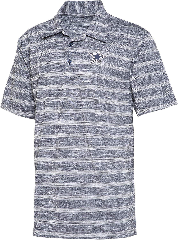 Dallas Cowboys Mens Lorimar Polyester Jersey Polo