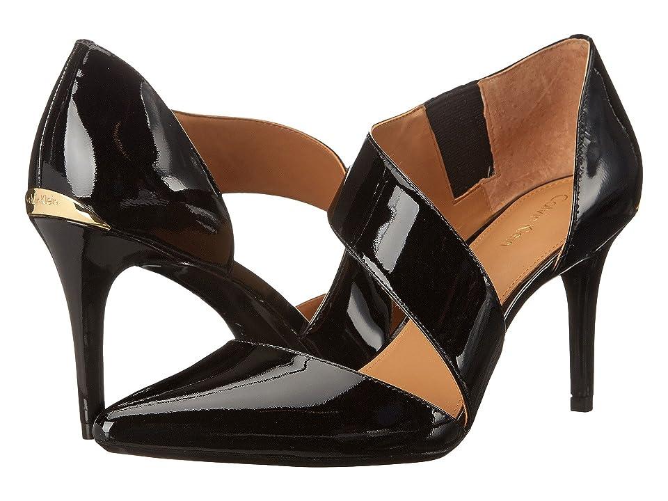 Calvin Klein Gella (Black Patent) High Heels