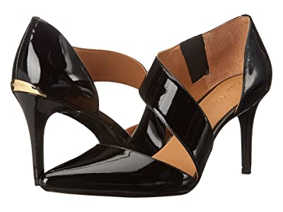 Calvin Klein Gella Pump (Black Patent) High Heels