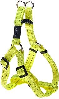 ROGZ Utility Extra Large 1-Inch Reflective Lumberjack Adjustable Dog Step-in-Harness