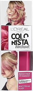 L 'Oreal colorista lavado caliente rosa neón semipermanente pelo, 80ml