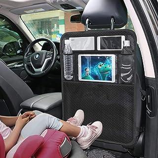 FFLSDR 2 Piezas De La Bolsa De Asiento De Atrás Estuche De Viaje For iPad Bolsillos Bolsa con Conjuntos Antiaéreos Sucias De Almacenamiento De Los Viajes En Coche (Color Name : 2 PCS)