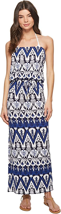 Tommy Bahama Pineapple Maxi Dress Cover-Up