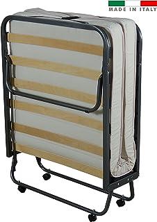 Cama plegable con colchón acolchado
