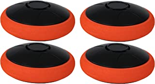 Sunnydaze Tabletop Rechargeable Hockey Hover Puck, 2-Inch, Choose Quantity