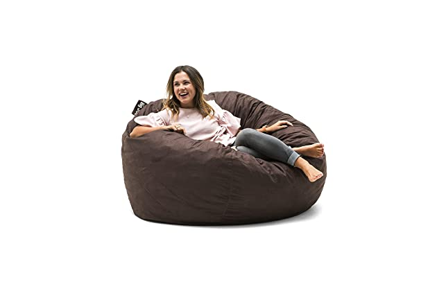 Fantastic Best Giant Bean Bag Chairs For Adults Amazon Com Dailytribune Chair Design For Home Dailytribuneorg