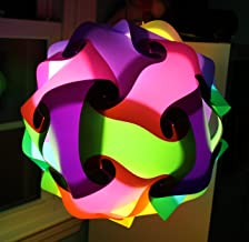 Pastel Mix Large Infinity Lights, Puzzle Lights, IQ Lights, LuvaLamps, Jigsaw Lamps, ZE Lights 30 Piece Pack USA
