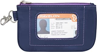 Travelon Safe Daisy Id Pouch, Navy, One Size