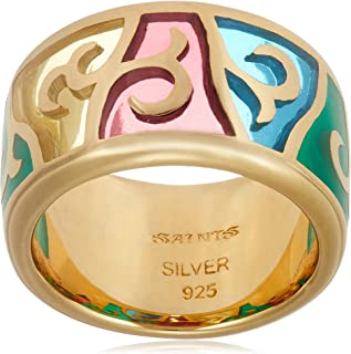 [SAINTS] SAINTS 彩色玻璃金戒指