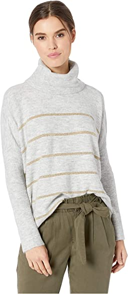 Harlo Metallic Striped Sweater
