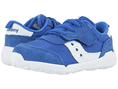 Saucony Kids Originals Jazz Riff (Toddler/Little Kid) (Royal/White) Kid