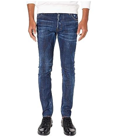 DSQUARED2 Dark Wash Sexy Mercury Jeans (Blue) Men