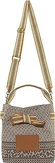 CODELLO Damen Beutel-Tasche   Logo-Design   100% Baumwolle Canvas   31 x 24 x 17 cm