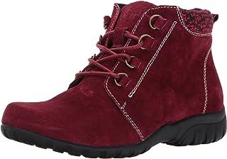 حذاء برقبة طويلة طويلة للكاحل من Propet للنساء، أحمر داكن، 6. 5 ضيق