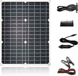 Tencen لوحة للطاقة الشمسية 24W مولد QC3.0 PD 18W سريع شاحن USB نوع USB-C-C 12V 18V DC ميناء لمحطة آي فون أي باد تبويب سامس...