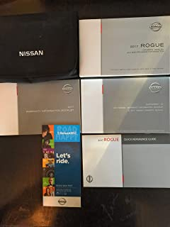 2017 Nissan Rogue Owners Manual Guide Book
