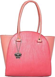 Butterflies Women's Handbag (Dark Peach) (BNS 0580DPCH)