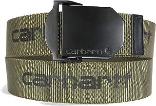 Carhartt mens Signature Webbing Belt
