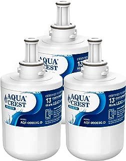 AQUACREST DA29-00003G, NSF 401,53&42 Certified to Reduce 13 Contaminants, Compatible with Samsung DA29-00003G, DA29-00003B, DA29-00003A, Aqua-Pure Plus, HAFCU1 Refrigerator Water Filter (Pack of 3)