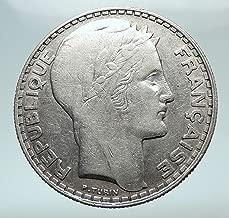 20 francs 1933