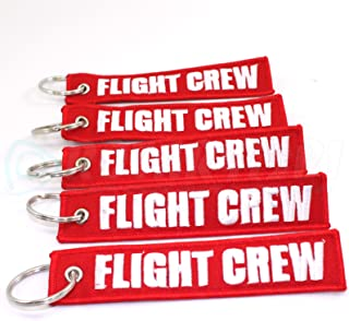 airline crew luggage tags