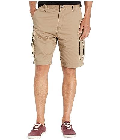 Volcom Bevel 20 Cargo Shorts (Khaki) Men
