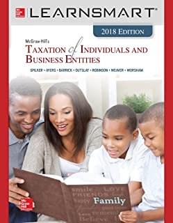 Learnsmart Standalone Access Card for McGraw-Hill's Taxation of Individuals and Business Entities 2018 Edition