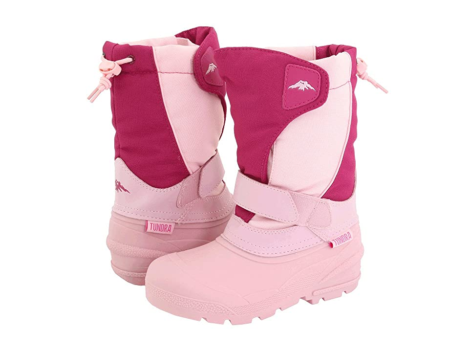 Tundra Boots Kids Quebec (Toddler/Little Kid/Big Kid) (Fuchsia/Pink) Girls Shoes