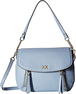 MICHAEL Michael Kors Evie Medium Shoulder Flap