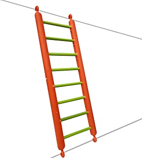 PetNest Imported Plastic Ladder Bird Toy for parkeets and Parrots