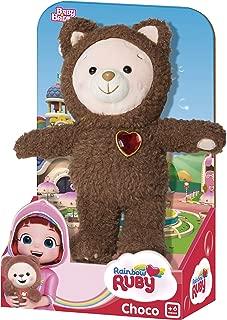 Urso Choco Pelúcia Baby Brink Marrom