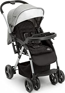 Jeep Unlimited Reversible Handle Stroller, Grey Tweed