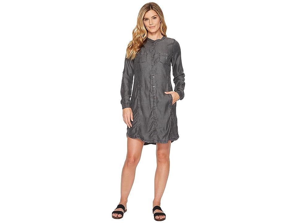 Prana Aliki Shirt Dress (Grey Wash) Women