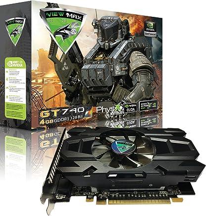 ViewMax GeForce GT 740 4GB GDDR3 128 Bit PCI Express (PCIe) DVI Video Card HDMI & HDCP Support CYBERWOLF Legendary Edition