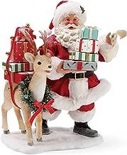 Department 56 Possible Dreams Santa Deerest Figurine, 10.5 Inch, Multicolor