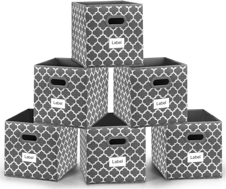 Foldable Max 81% OFF Max 78% OFF Cube Storage Bins 12x12 Bin Fabric inches Bask