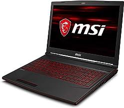 """MSI GL63 9SDK-1051 15.6"""" FHD Gaming Laptop Intel Core i7-9750H GTX1660Ti 16GB 256GB NVMe SSD +1TB Win10"""