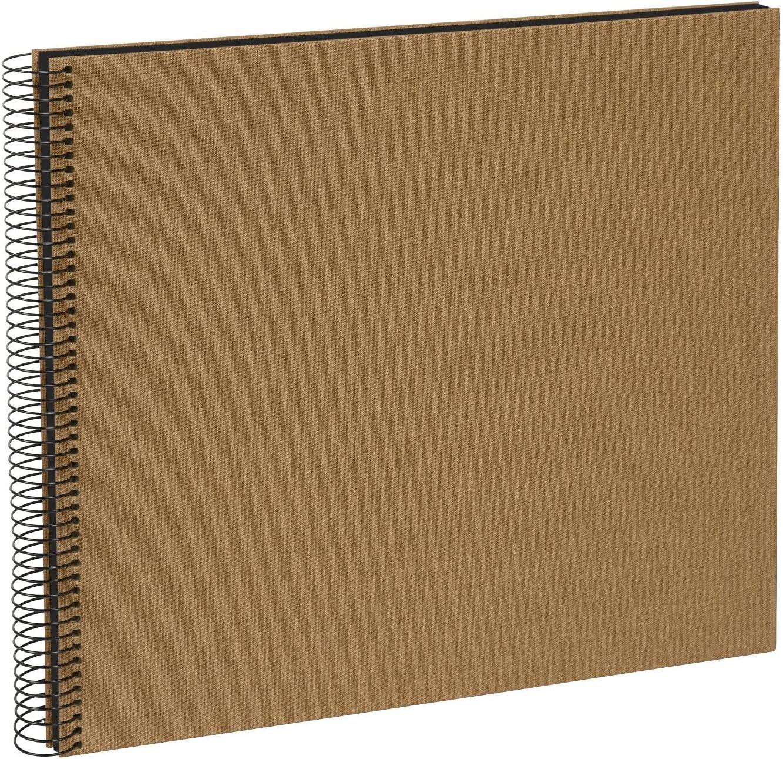 Max 57% OFF Goldbuch Spiral Album Cardboard Coffe cm 35x30 Many popular brands Bronze