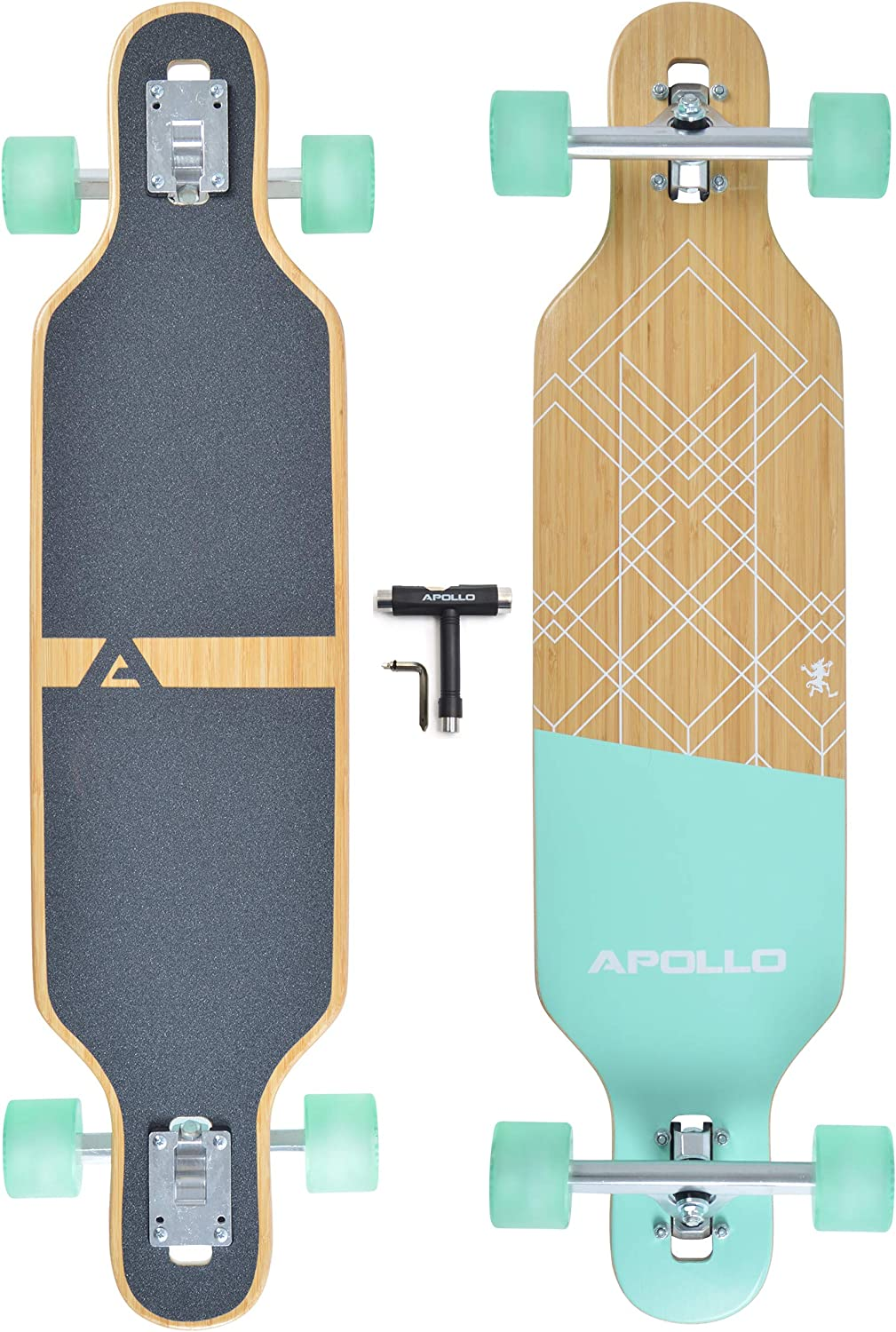 7 Layers Teens and Adults; Freeride Skateboard Cruiser and Downhill Longboards APOLLO Longboard for Professionals and Beginners; Long Board for Kids