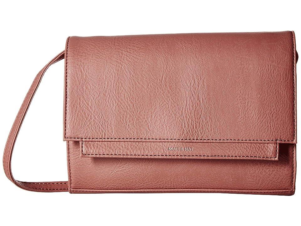 Matt & Nat Dwell Silvi (Clay) Handbags