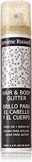 Jerome Russell Hair and Body Glitter Spray, Gold, 2.2 Fluid Ounce