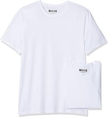 Mustang T-Shirt (Lot de 2) Homme