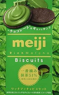 meiji green tea biscuits
