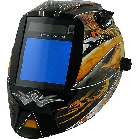 5000V 5500V 6000V /& iDF48 Auto-Darkening Filters ArcOne 3-1100 Black Python Welding Helmet Shell For 4000V