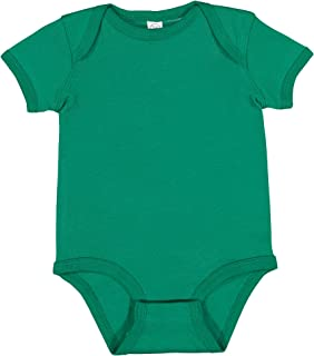 Rabbit Skins Infants'5 oz. Baby Rib Lap Shoulder Bodysuit