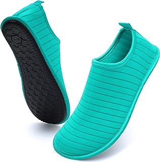 Womens Mens Water Shoes Quick Dry Barefoot Sports Aqua Shoes Swim Beach Yoga Surf Diving