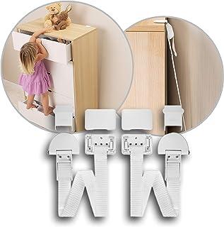 Reer Furniture Anti-tip Kit, White