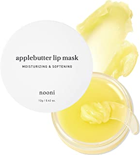 Sponsored Ad - NOONI Applebutter Lip Mask with Shea Butter, AHAs, and Vitamins A,C & E | Moisturizing Lip Mask Overnight |...