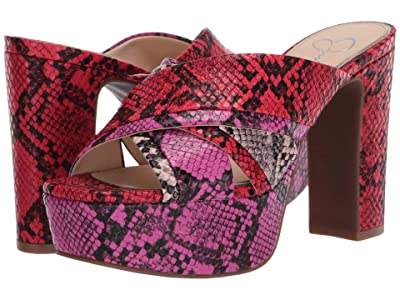 Jessica Simpson Cylie (Red Combo) Women